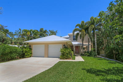 Stuart Single Family Home For Sale: 1225 SE Saint Lucie Boulevard
