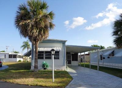 Boynton Beach FL Mobile Home For Sale: $51,900