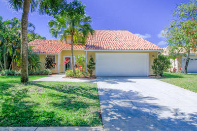 Jupiter Single Family Home Contingent: 6544 Pineloch Court
