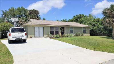 Indian River County Single Family Home For Sale: 822 Wasena Avenue