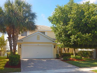 Royal Palm Beach Single Family Home For Sale: 130 Berenger Walk