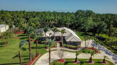 Loxahatchee Single Family Home Contingent: 16302 69th Street