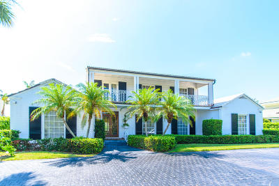 North Palm Beach Single Family Home For Sale: 12141 Turtle Beach Road