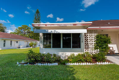 Delray Beach Single Family Home For Sale: 4850 NW 4th Street #A
