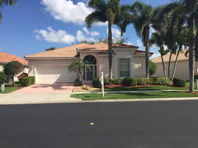 Boynton Beach Single Family Home For Sale: 12680 Coral Lakes Drive
