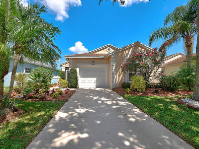 Delray Beach Single Family Home For Sale: 7601 Mansfield Hollow Road