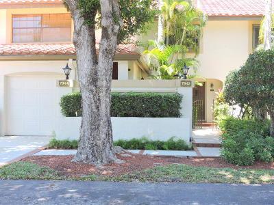 Boca Raton Single Family Home For Sale: 7942 La Mirada Drive