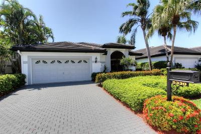 Boca Raton Single Family Home For Sale: 5330 Steeple Chase