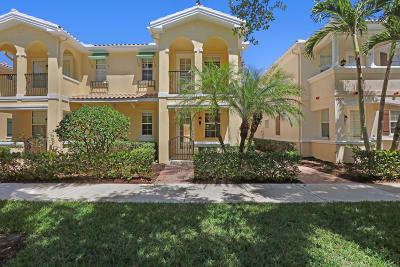 Jupiter Townhouse For Sale: 3531 Greenway Drive