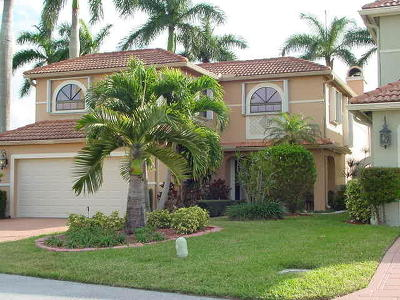 Boca Raton Single Family Home For Sale: 9140 Villa Portofino Circle