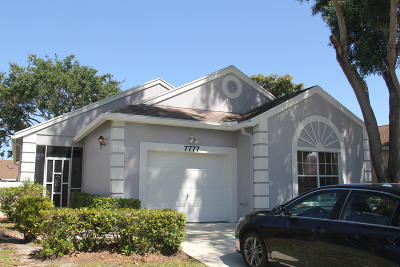 Delray Beach Single Family Home For Sale: 7777 Mansfield Hollow Road