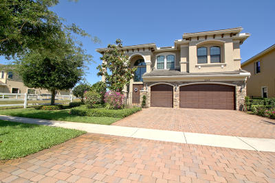 Boynton Beach Single Family Home Contingent: 9523 Equus Circle
