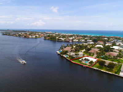 Gulf Stream, Ocean Ridge Single Family Home For Sale: 51 Spanish River Drive