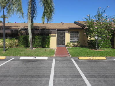 Delray Beach Single Family Home For Sale: 13877 Via Aurora #C