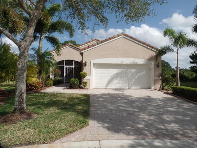 Port Saint Lucie Single Family Home For Sale: 614 NW Whitfield Way