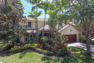 Palm Beach Gardens Single Family Home For Sale: 902 Mill Creek Drive