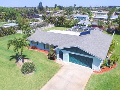 Jensen Beach Single Family Home For Sale: 1419 NE 29th Terrace