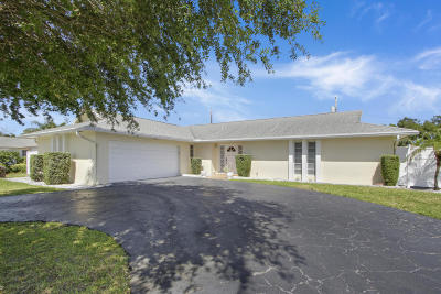 West Palm Beach Single Family Home For Sale: 7568 Palm Road