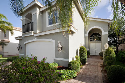 Boynton Beach Single Family Home For Sale: 8859 Briarwood Meadow Lane