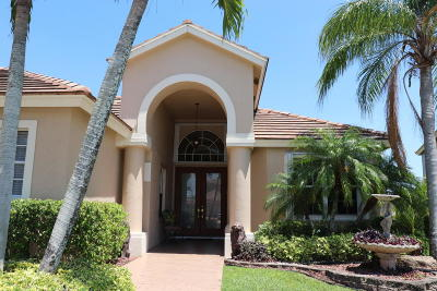Boca Raton Single Family Home For Sale: 12444 Antille Drive