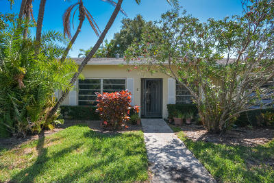 Delray Beach Single Family Home For Sale: 13831 Via Flora #406 C