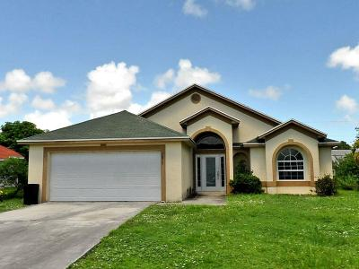 Port Saint Lucie Single Family Home For Sale: 1019 SW Liberty Avenue
