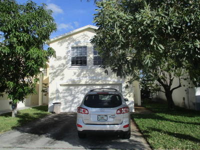 Greenacres Single Family Home For Sale: 4204 Pine Hollow Circle
