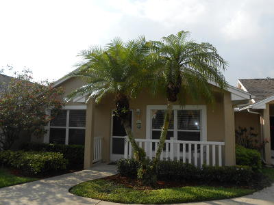 Port Saint Lucie Single Family Home For Sale: 651 NW San Remo Circle
