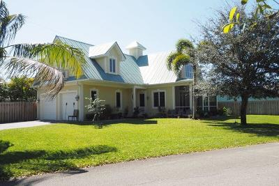 Hobe Sound Single Family Home For Sale: 9066 SE Athena Street