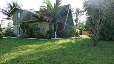 Royal Palm Beach Single Family Home For Sale: 13354 55th Road