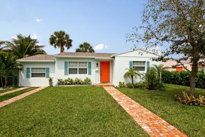 West Palm Beach Single Family Home For Sale: 255 Pilgrim Road