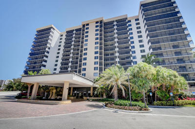 Highland Beach Condo For Sale: 3400 S Ocean Boulevard #3j