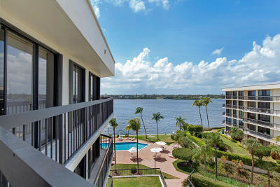 Palm Beach Condo For Sale: 2778 S Ocean Blvd # Boulevard #Ph5