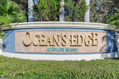Singer Island Condo For Sale: 5050 Ocean Drive #1503