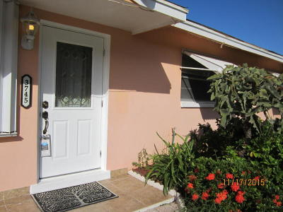 Single Family Home For Sale: 3745 Atlantic Road