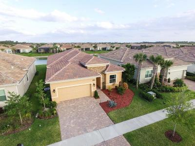 Port Saint Lucie Single Family Home Contingent: 18025 SW Cosenza Way