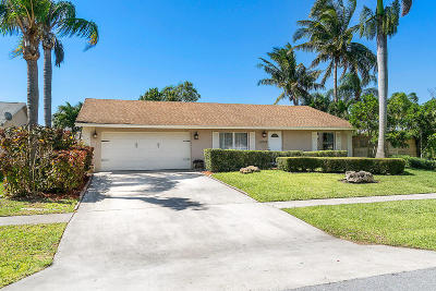 Lake Worth Single Family Home For Sale: 6248 Plains Drive