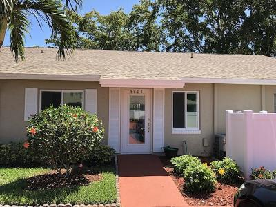Boca Raton Single Family Home For Sale: 8628 Overset Lane #C