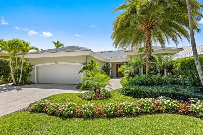Jupiter Single Family Home Contingent: 331 Regatta Drive