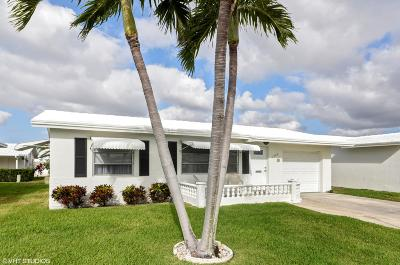 Boynton Beach Single Family Home For Sale: 1009 SW 16th Street