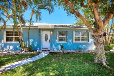 Lake Worth Single Family Home For Sale: 210 17th Avenue S