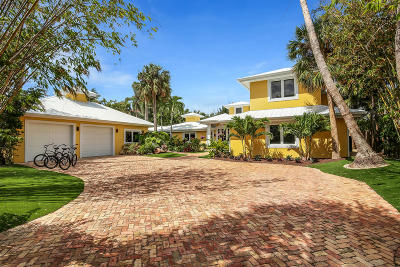 Jupiter Inlet Colony FL Single Family Home For Sale: $6,700,000