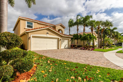 Lake Worth Single Family Home For Sale: 8249 Viale Matera