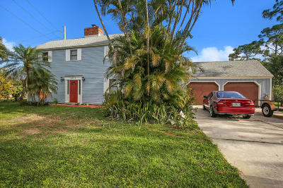 West Palm Beach Single Family Home For Sale: 6471 Gun Club Road