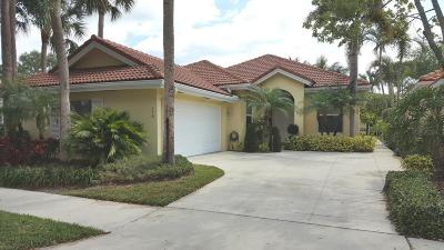 Jupiter Single Family Home For Sale: 176 Hampton Place