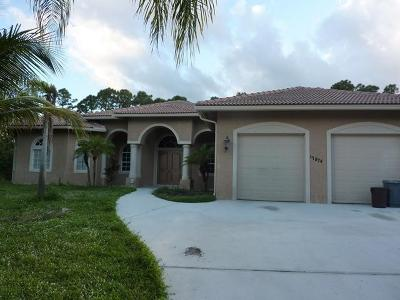 Loxahatchee Single Family Home For Sale: 17874 47th Court