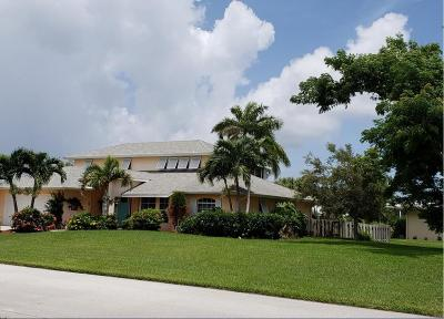 Hutchinson Island FL Single Family Home For Sale: $562,000