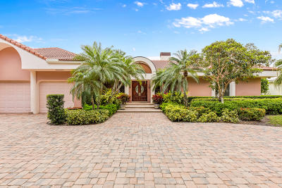 Jupiter FL Single Family Home For Sale: $3,250,000