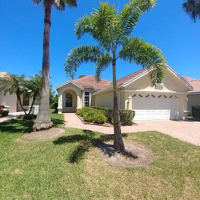 Port Saint Lucie Single Family Home For Sale: 647 SW Munjack Cove