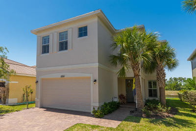 Port Saint Lucie Single Family Home For Sale: 2253 NW Padova Street